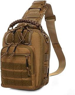 ANTARCTICA Tactical Bag Pack Military Range Shoulder Backpack Range Bag 1050D (Brown)
