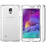 itronik Hülle kompatibel mit Samsung Galaxy Note 4 TPU r&um Schutzhülle Hülle Hülle Cover durchsichtig (klar durchsichtig)