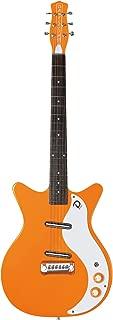 Danelectro Electric Guitar '59M NOS+ Page Style Orange Lipstick Pickups