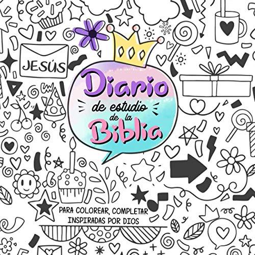 Diario de estudio de la Biblia para niñas.Un cuaderno interactivo para escribir un diario inspirado por Dios ,tomar apuntes del estudio de la ... cristianas puedan escribir sus experiencias.