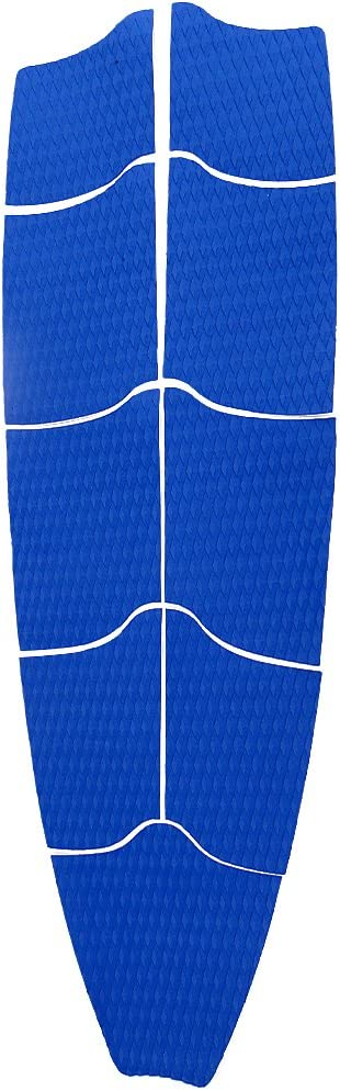 Surfboard Longboard and More Adhesive /& Trimmable LEIPUPA Set of 9 Stand up Paddle Board Traction Pad Deck Grip Mat for SUP Select Colors
