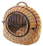 KORBVERSAND Katzenkorb Hundekorb - 54x43x37 cm - Transportkorb Tierkorb Katzenbox Hundebox Katzenhöhle Hundehöhle Liegeplatz Schlafkorb