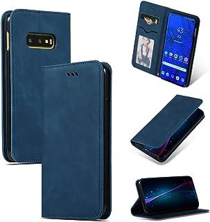 08bf1b0255f Compatible con Samsung Galaxy S10e Funda, Libro Cover de Cuero PU Leather  Billetera Carcasa,