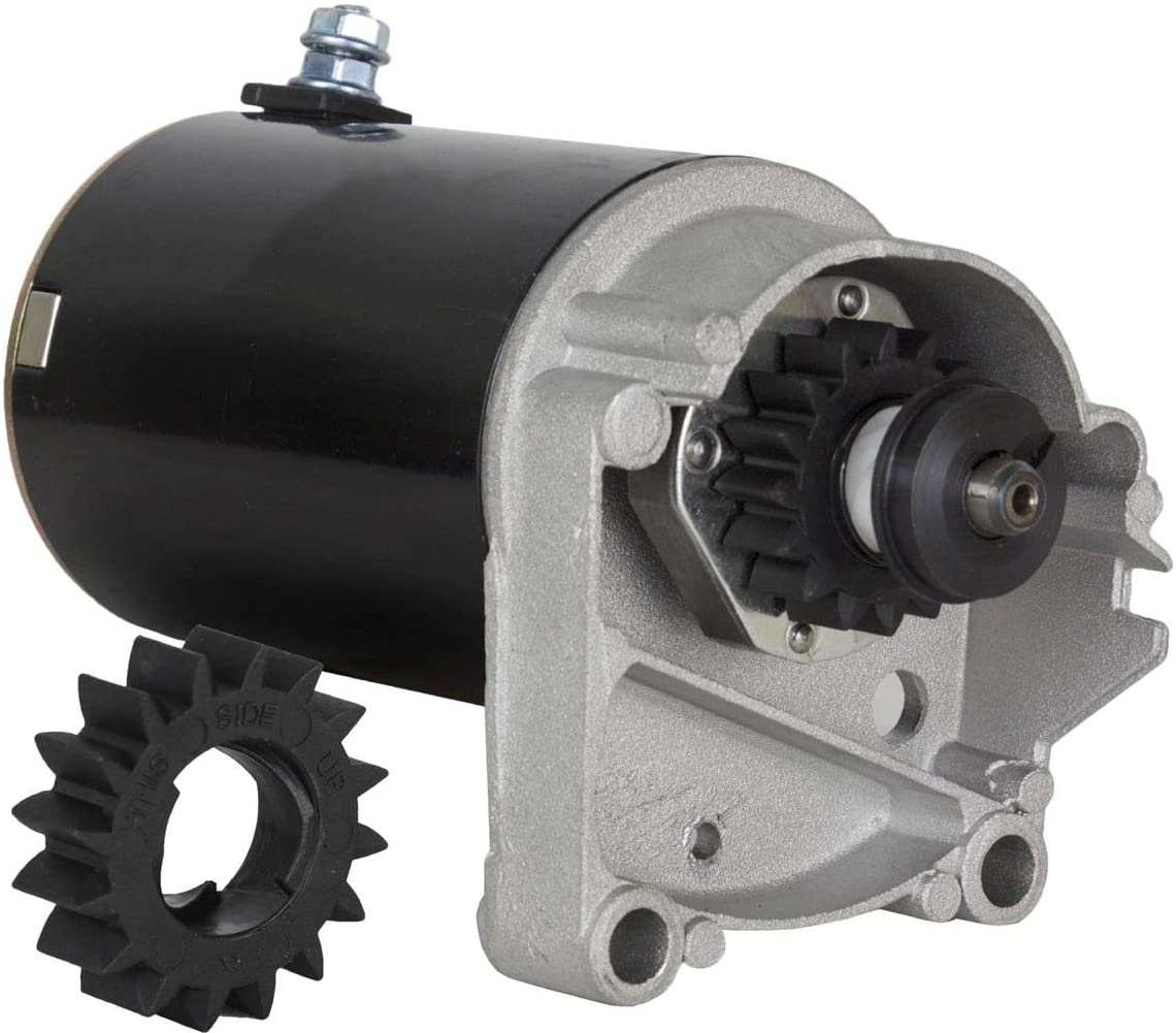 Rareelectrical Popular shop is the lowest Ranking integrated 1st place price challenge New Starter Motor Compatible Briggs Stratt With