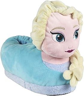 ARTESANIA CERDA Zapatillas de Casa 3D Frozen Elsa, Niñas