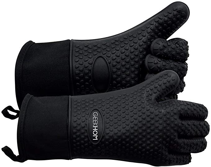 GEEKHOM Grilling Gloves - Best Quality