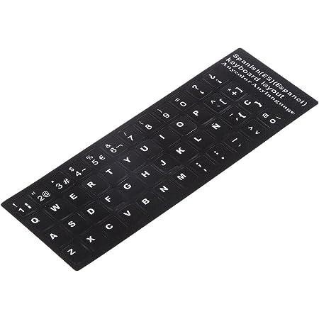 Protectora Cubierta para 10 - 17 Pulagdas Portátil Laptop Notebook Tableta Teclado Alfabeto Español