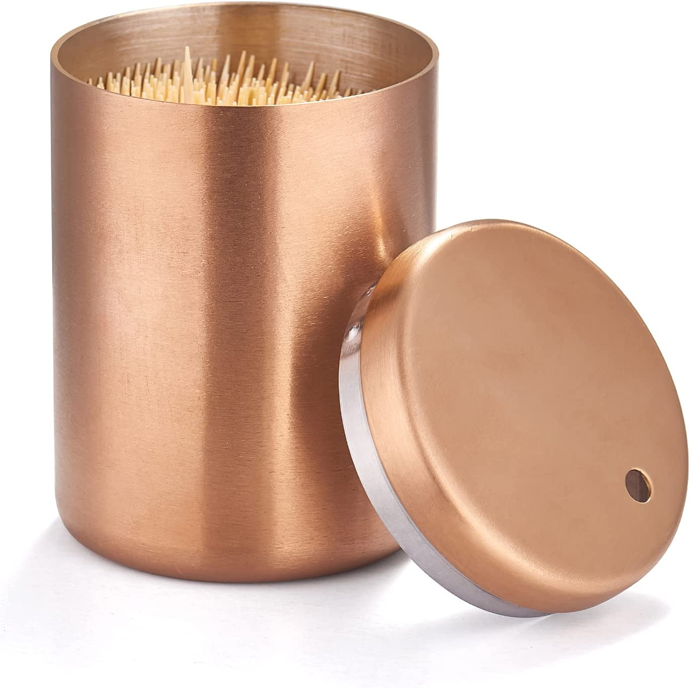 Cheap bargain Toothpick Holder Stainless Steel Di Metal Rose Max 64% OFF Golden
