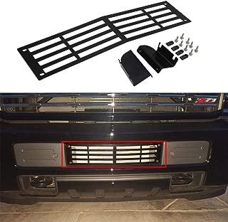 Lonwin Black Bumper Grille Insert 2015-2019 Chevy Silverado 2500 3500 HD Silverado Grille Inserts