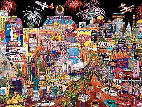 Ceaco Perfect Piece Count Puzzle - City Lights - Las Vegas