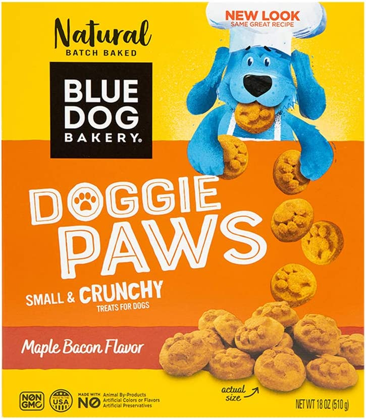 Reservation Blue Dog Max 67% OFF Bakery Natural Paws Bacon Treats Maple