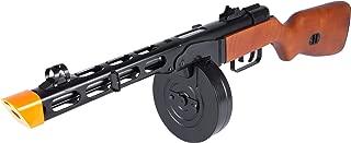 Evike S&T PPSh-41 WWII Electric Blowback Airsoft AEG Submachine Gun w/Drum Mag
