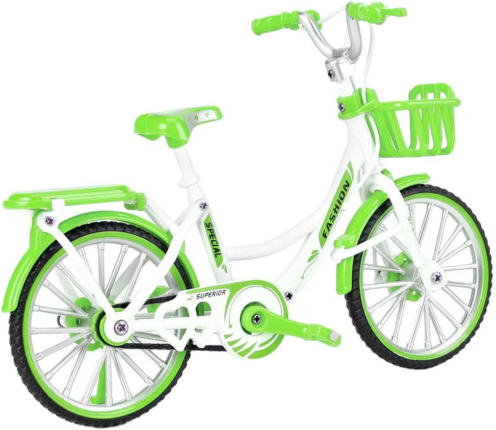 YanSDzi Mini Bike Model Green Finger Decoration Toy Denver Mall Home Cheap bargain