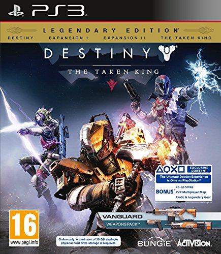 Activision Blizzard - Destiny: The Taken King - Legendary Edition ( (DLC EXPIRED SO CONSIDER AS STANDARD)/PS3 (1 GAMES)