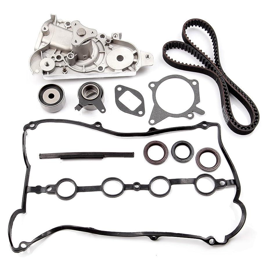 SCITOO TBK179 Fits 94-00 Mazda Miata 1.8L 1.8 DOHC Timing Belt Kit Water Pump