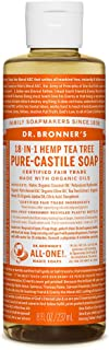 Dr. Bronner's - Pure-Castile Liquid Soap (Tea Tree, 8 Ounce)