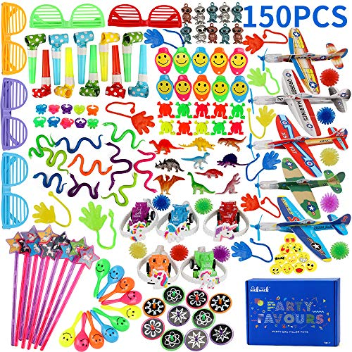 nicknack Rellenos de piñata para niños, Fiesta de cumpleaños de 150 Piezas...