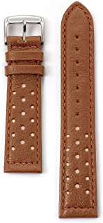 Speidel Men's Soft Calf Driving Leather Watch Band