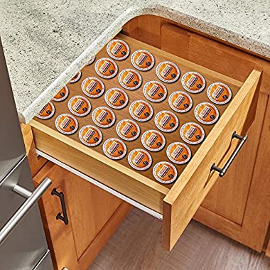 Storage for K-Cup Pods, wooden cofee organization- CHOOSE YOUR SIZE -