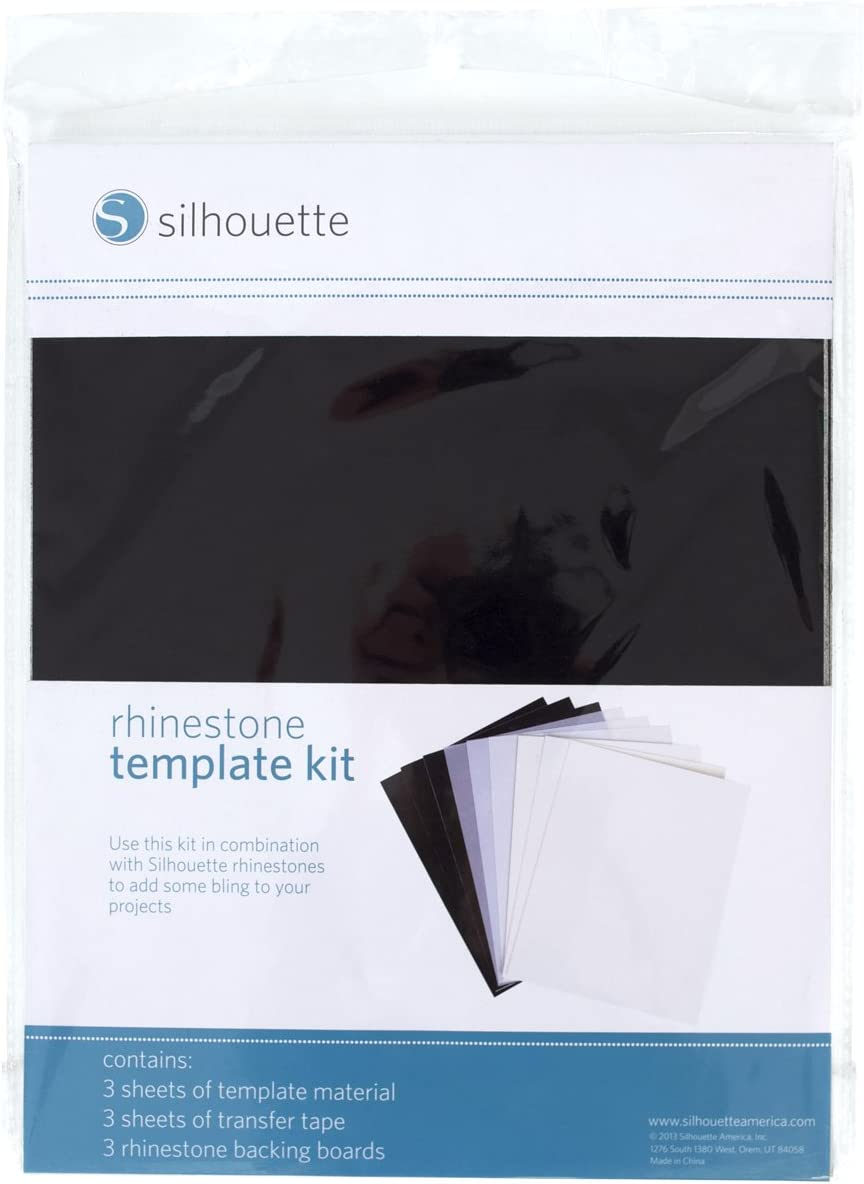 Silhouette famous SILH-Rhine-TEMPSET Rhinestone Same day shipping Template Kit