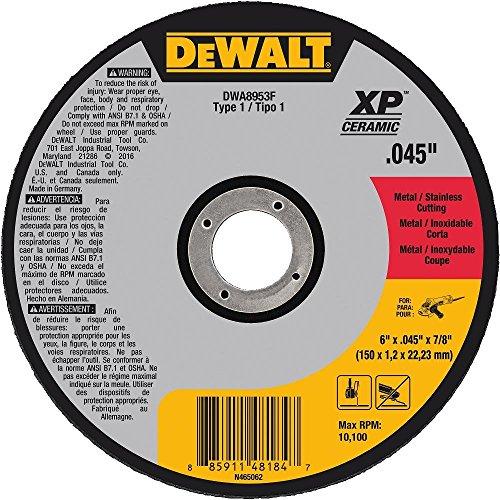 DEWALT DWA8953F T1 XP CER Fast Cut-Off Wheel, 6