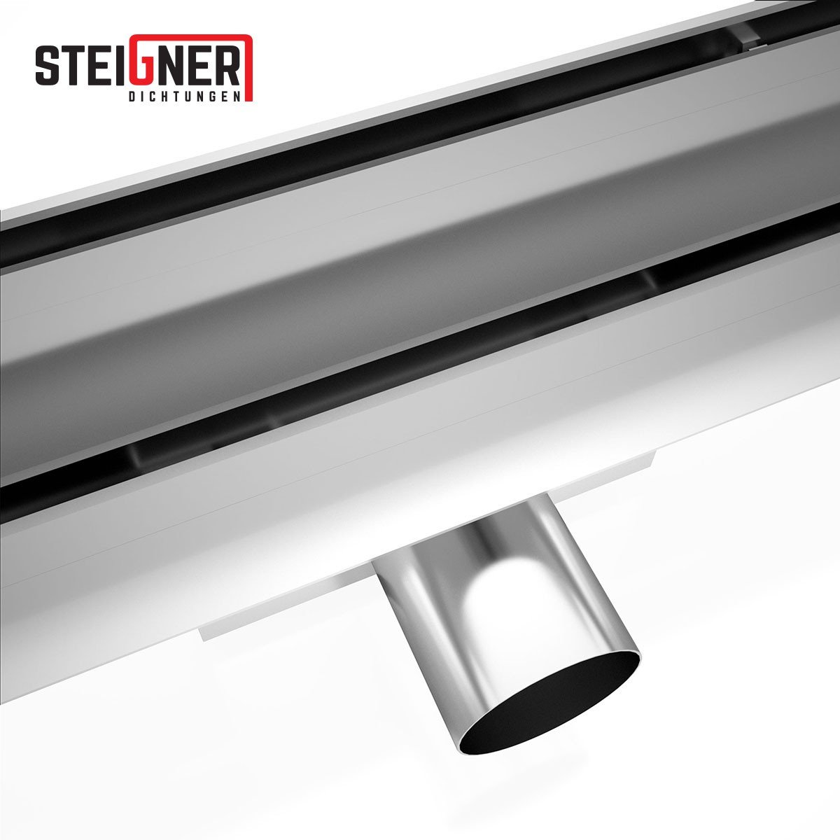 STEIGNER Desagüe de Ducha Lineal 100 cm SDR90 Berlin Canalón Acero ...