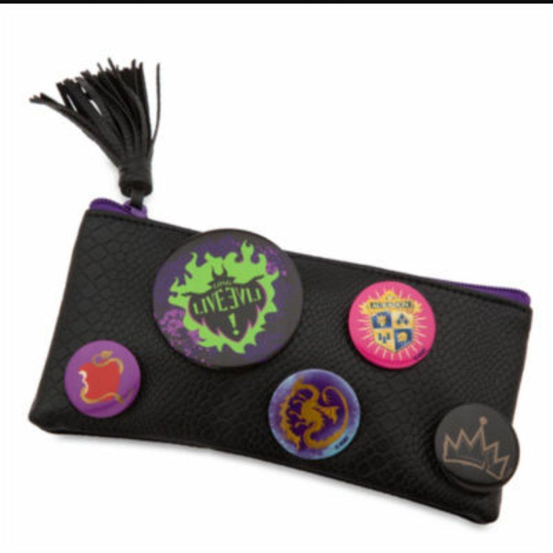Disney Descendientes Badge estuche/bolso por Disney Store insignias de Apple long live Auradon dragón: Amazon.es: Oficina y papelería