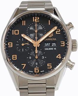 タグ・ホイヤー カレラ キャリバー16 クロノグラフ CV2A1AB.BA0738 ブラック メンズ 腕時計 [並行輸入品]
