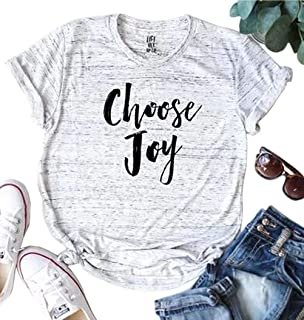 choose joy t shirt
