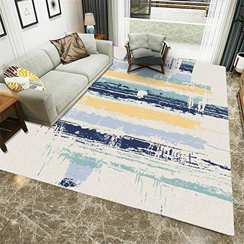 Vintage Small Area Rugs blue Garden Rugs Large Floor Carpet For Home Anti Slip Rug Modern area carpet,dining room,garden,tatami,kitchen 40×60CM