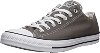 Converse Unisex Chuck Taylor All Star Low Top Sneakers - Grey/White - 7.5 D(M) US