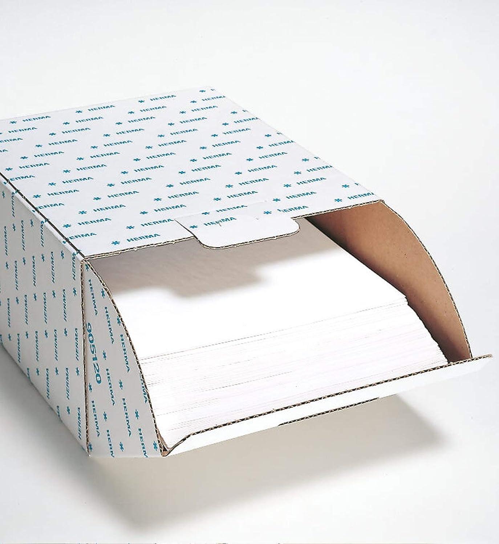 Herma 7569 Fotophan Fotokarton weiß (230 x 297 mm) 250 250 250 Blatt, mit Schutzblatt u. Eurolochung, beidseitig gestaltbar, für alle Herma Ringalben und Foto-Ordner B00SNDX3VY   Elegante Und Stabile Verpackung  ab44de