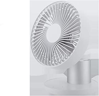 High Velocity Personal Fans Charging USB Table Fan Rotatable Shaking Head 3 Speed Regulation Desktop Electric Fan Office H...