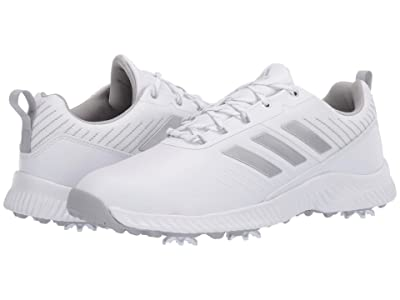 adidas Golf Response Bounce 2 (Footwear White/Silver Metallic/Grey Two) Women