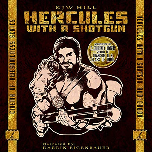 Hercules with a Shotgun audiobook cover art