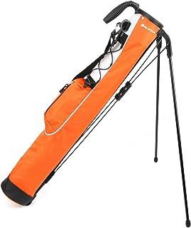 Knight Orlimar Pitch & Putt Golf Lightweight Stand Carry Bag, Orange