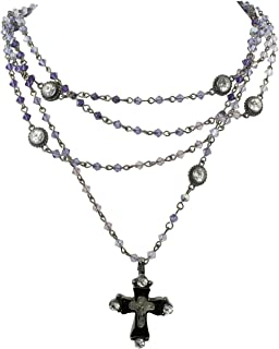 magdalena necklace with cross