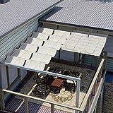 E&K Sunrise Retractable Pergola Canopy