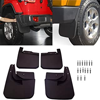 poueae Mud Flaps Splash Guards Front and Rear Fender...