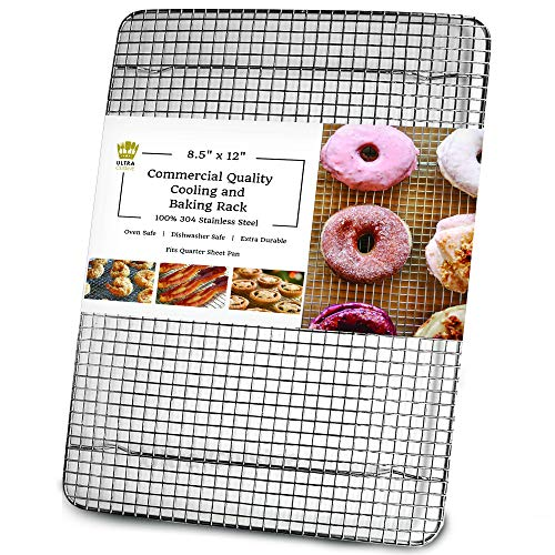 Quarter Sheet Pan Rackduty 1 4 Size Cooling Rack4 Elevated