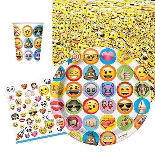 Party Bags 2 Go Emoji Couverts de Fête Lot pour 8