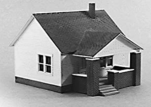 Rix Products - Rix Products One-Story House w/Side Porch - Kit - HO