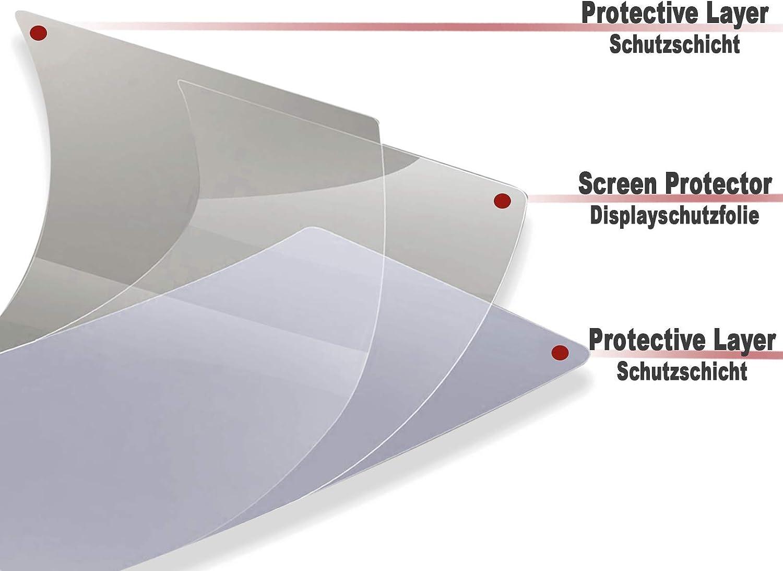 Lot de 2 films de protection d/écran pour compteur de vitesse MotoGuzzi V85TT 1 x Ultra Clear 1 x Anti-Glare