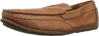 Clarks Men'S Benero Race Tan Leather, Brown, 39.5 EU