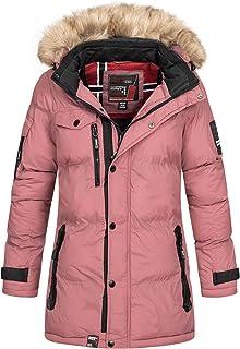 Geographical Norway - Chaqueta de invierno acolchada para mujer, para exterior, transpirable, resistente al viento, imperm...