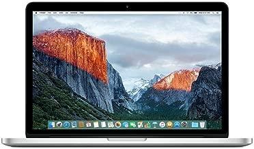 "Apple MacBook Pro Retina MF843LL/A 13"" Laptop, 3.1GHz Intel Core i7, 16GB Memory, 512GB SSD, macOS 10.14 Mojave (Renewed)"