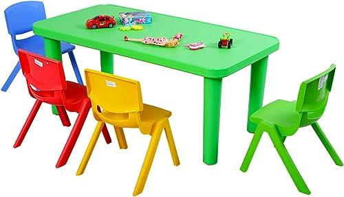 ventas en linea Costzon - Juego de Mesa y y y 4 sillas de plástico para Niños  distribución global