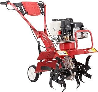 QILIN Tiller - 4-in-1 Front Tine Tiller/Cultivator, Multifunctional Micro-tiller, Gasoline Engine Worm Gear Drive, Height ...