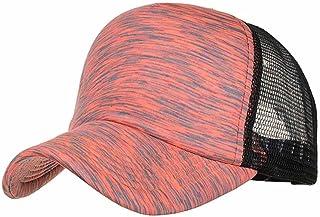 a10a82815bb680 OcEaN Accessories Baseball Cap Mesh Fashion Women Men Adjustable Colorful  Stripes Hat Outdoor Shade