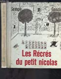 Les Récrés du Petit Nicolas - Denoel - 01/09/1961